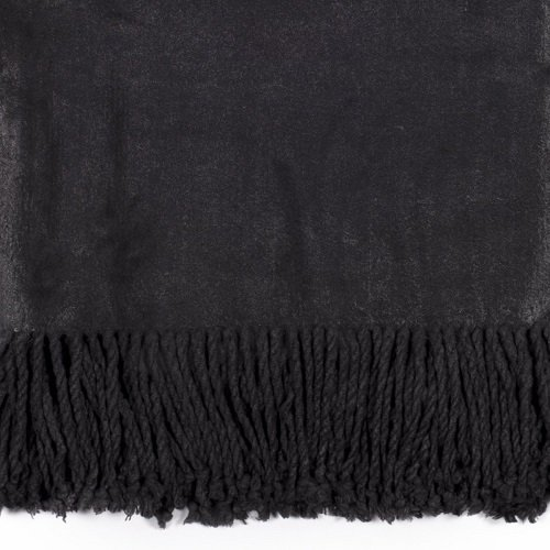 Charcoal Bamboo Throw Swatch