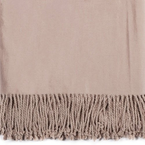 Dusty Rose Bamboo Throw Swatch